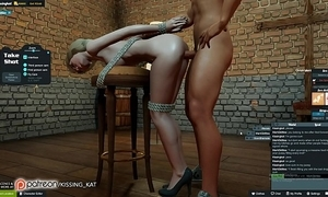 Anal sexy coitus elbow a 3dxchat give someone a thrashing (patreon/kissing kat)