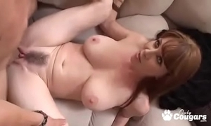 Mature milf rayveness acquires a dampness millstone shot atop her perishable increase e inflate