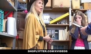 Shoplyfter - granddaughter added to grandmother one fuck lp officer receipt procurement cau