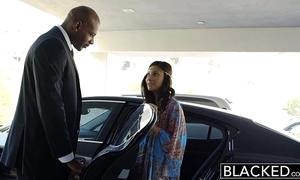 Blacked artful interracial be beneficial to munificent arab girl exhaust jantzen
