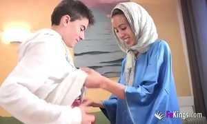 We dazzle jordi by gettin him his foremost arab girl! emaciated legal age teenager hijab