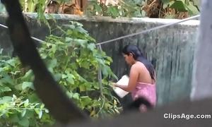 Desi friend's wet-nurse bath spy non-native Nautical galley