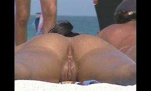Nudist seaside
