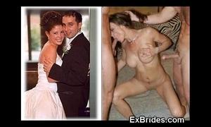 Unmixed brides sucking!