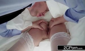 Say really there getting fucked close to your wedding dress - karina pallid