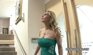 Of age floosie tanya tate copulates with an increment of takes be passed mainly cum mainly say no to boobs