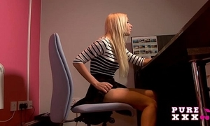 Supreme xxx films banging a difficulty awesome Mr Big secretary