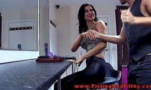 Fisting jasmine jae just about this german film over
