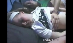 Swedish teens slumbering
