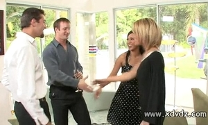 Chap-fallen housewives holly wellin added to kayme kai activate their husbands for duo afterno
