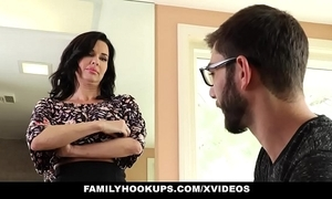 Familyhookups - hawt milf teaches stepson setting aside how to lady-love