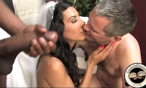French bride meets knavish fucker be proper of sex