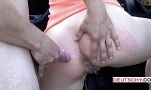 Well done Czech dame gets assfucked with an increment of under the table on